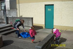 Tidy Town spring clean/Harold Boys at Dillons Park